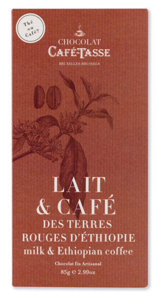 Café-Tasse белгийски шоколад-млечен с кафе Етиопия